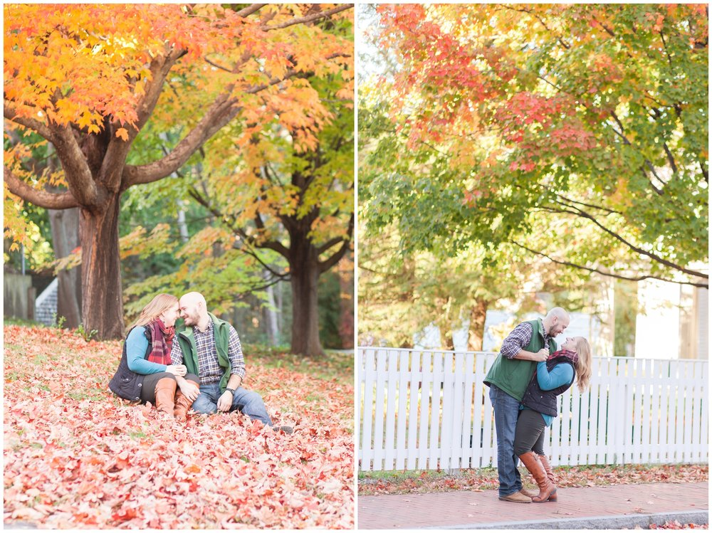 seacoast nh engagement session | prescott park | amy brown photogaphy