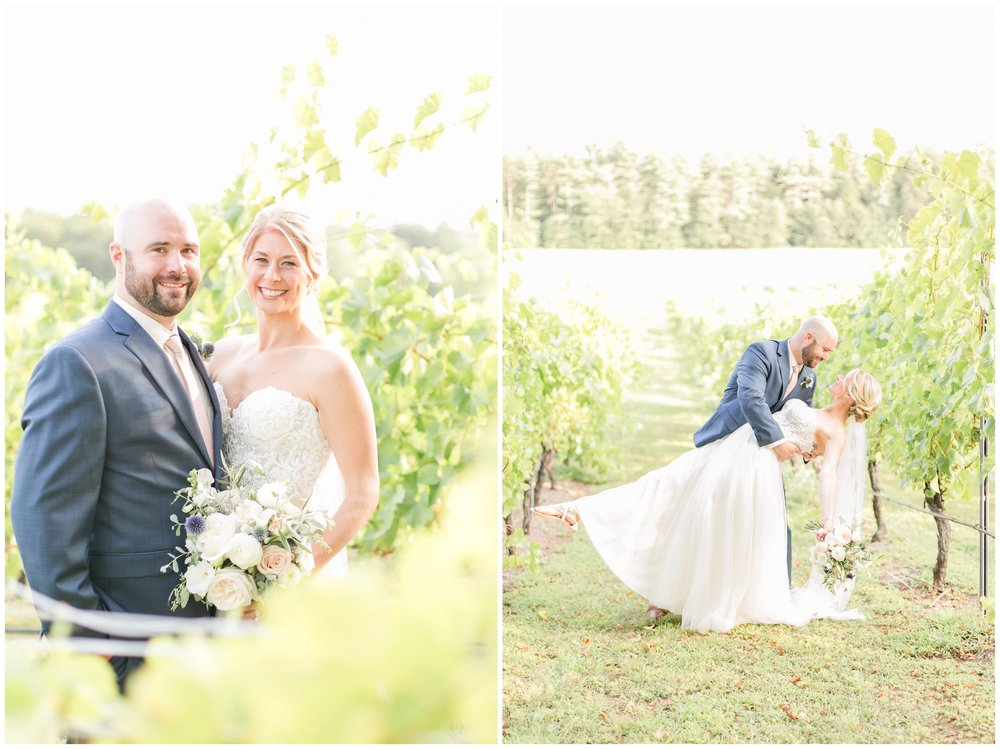 Seacoast New Hampshire Wedding Photographer | Amy Brown Photography | Flag Hill Winery Outdoor NH Wedding