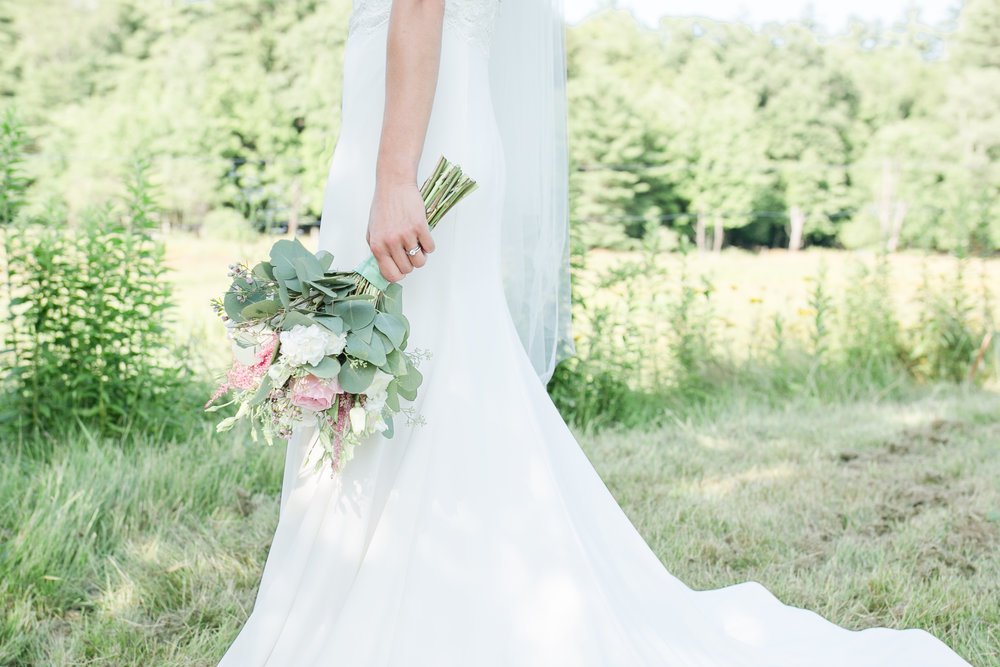Epping, NH Farm Wedding | Amy Brown Photography | Seacoast NH