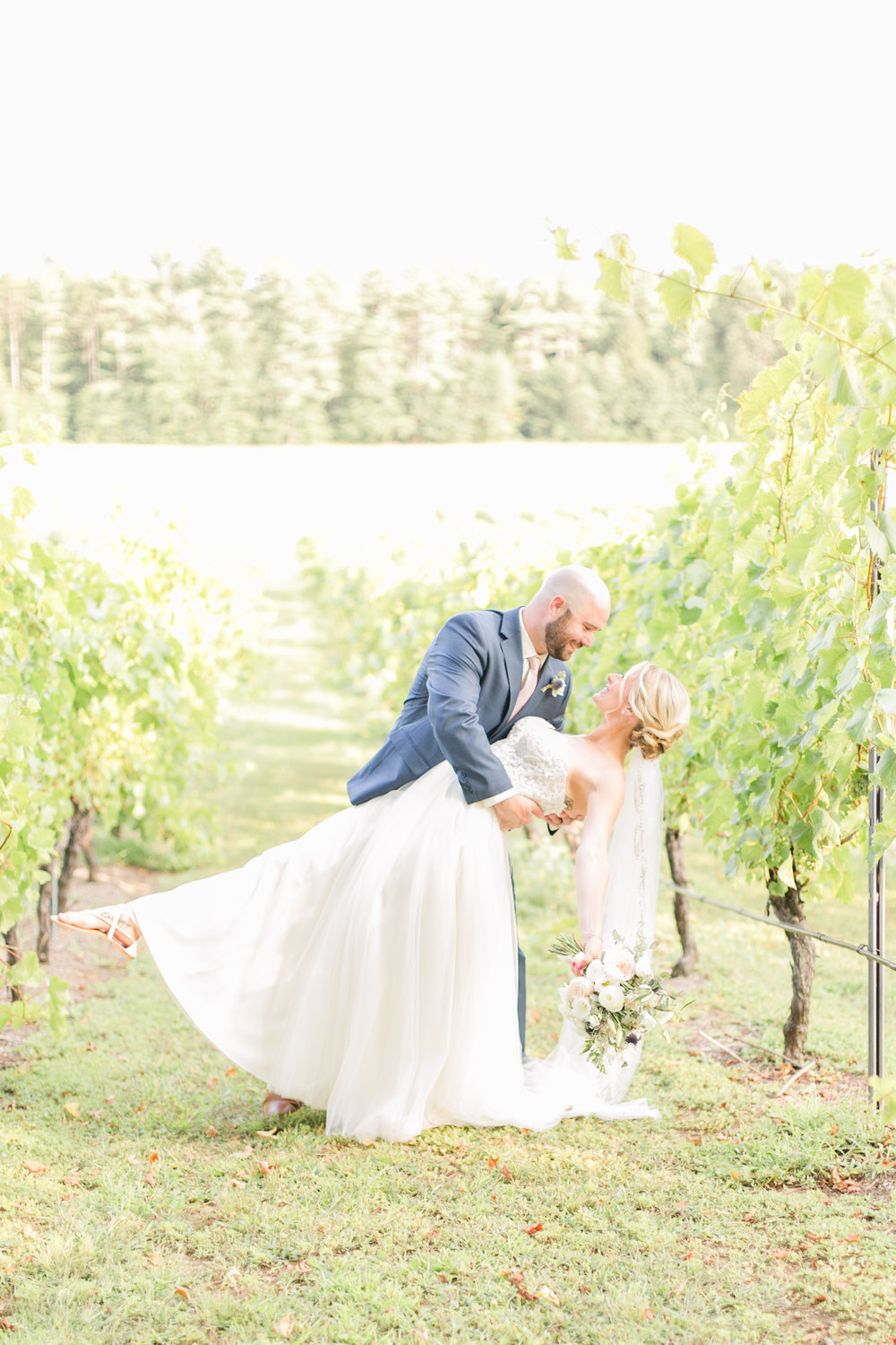 lee nh wedding photographer | amy brown photography | flag hill winery wedding