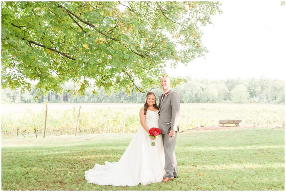 NH Wedding Photogarpher | Amy Brown Photography | Flag Hill Winery Wedding | NH Bride