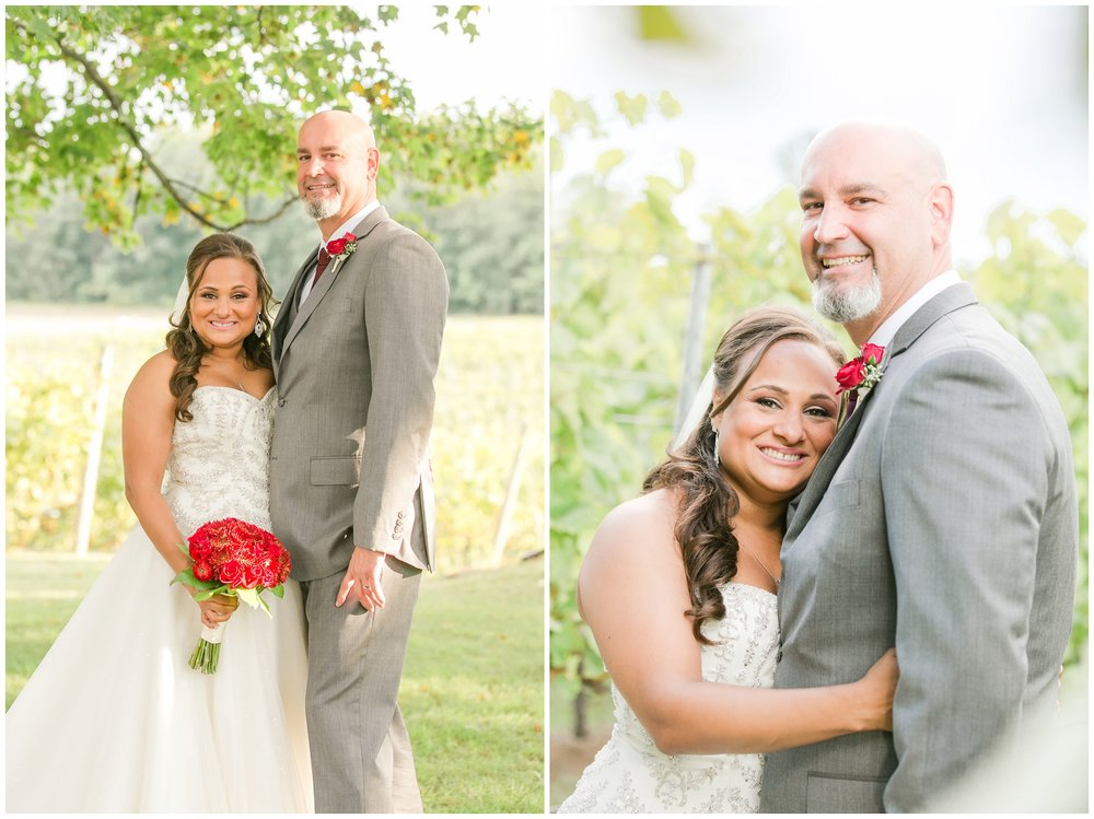 NH Outdoor Wedding | Flag Hill Winery | Lee, NH Wedding | Amy Brown Photography