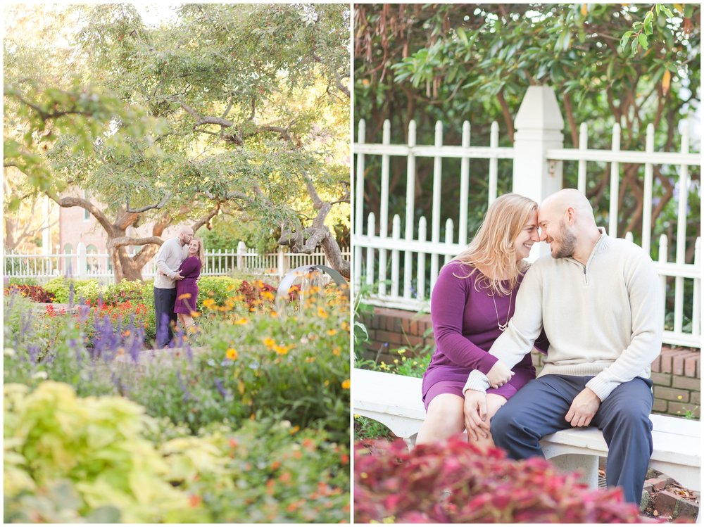 Seacoast NH Wedding Photographer | Prescott Park Engagement Session | Flag Hill Distillery Winery Wedding