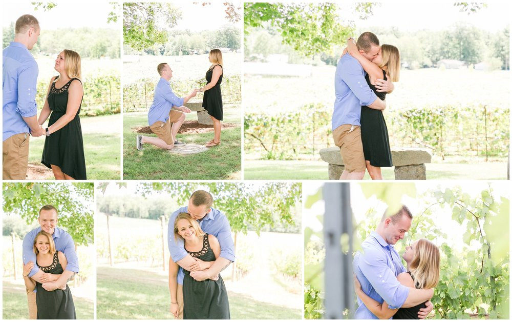 Flag Hill Winery Surprise Engagement