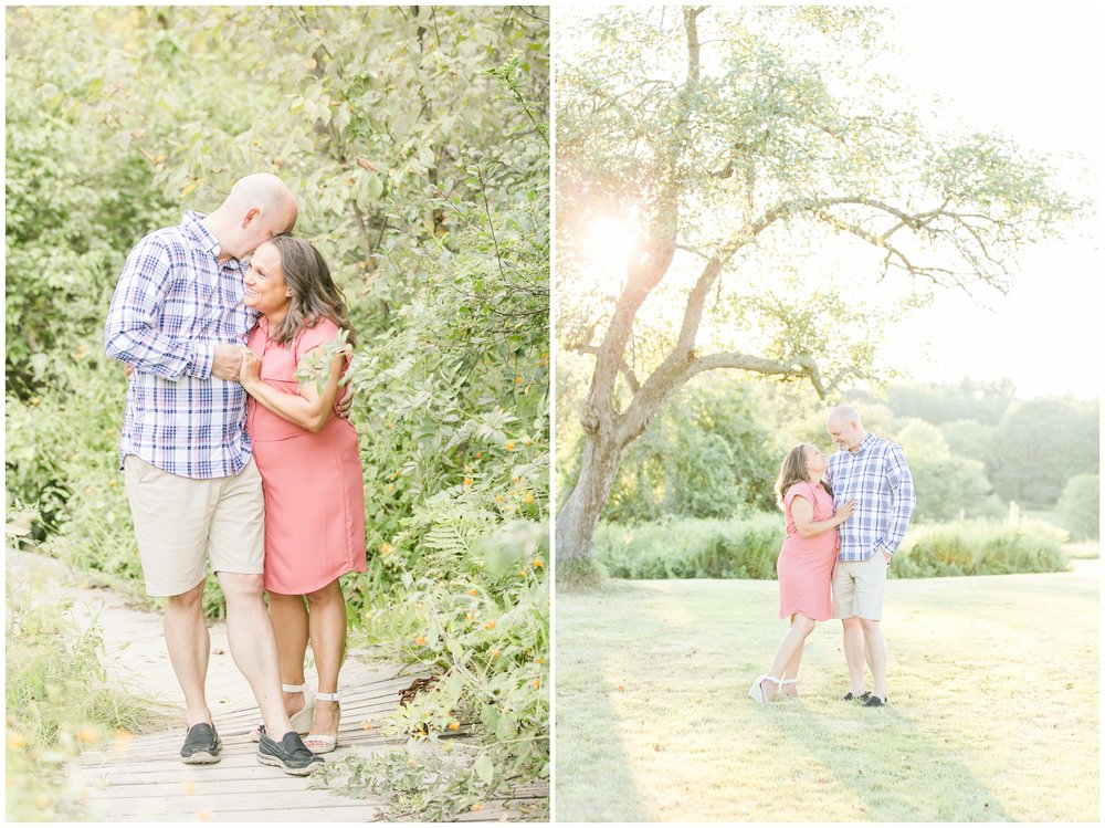 Seacoast NH Wedding Photographer | Wagon Hill Engagement Session | Flag Hill Wedding