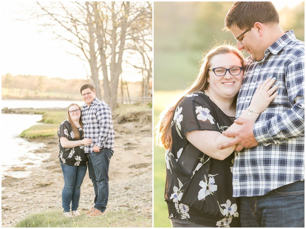 Wagon Hill Engagement Session, New Hampshire | Amy Brown Photography