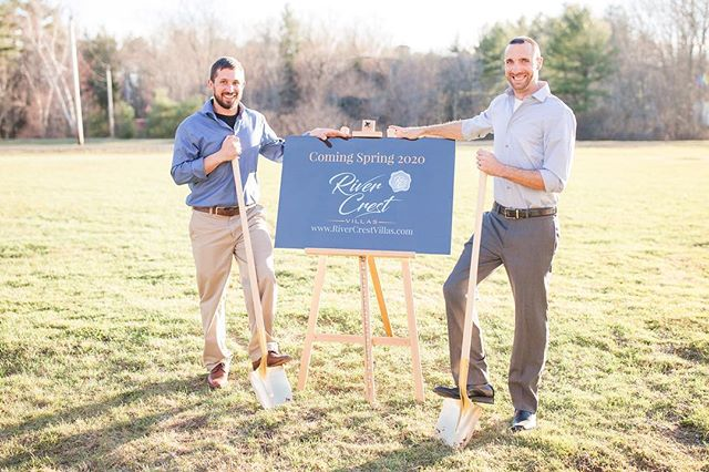 We would like to thank all of our amazing family, friends and community members whom joined us in celebrating the ground breaking of RiverCrest Villas. We are all very much looking forward to providing the Seacoast area with beautiful boutique lodging Villas. Our Villas will ensure you a private, home atmosphere stay with activities like wine and spirit tasting and private yoga, or relaxing alone time around your outdoor Villa fire. 🌟#rivercrestvillas #flaghilldistillery #affiliation #seacoastnh #seacoastlately #comingsoon #newhampshire