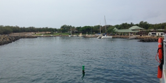 Lana'i's Manele Harbor