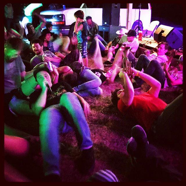 #ponyfest got down 👇👇👇📷: @messi_j