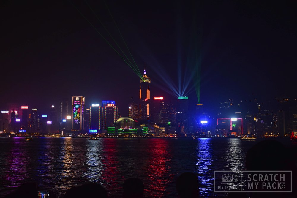 Symphony of Lights (SoL) at Victoria Harbour -   Free to watch - This has been the icon of Hong Kong and Victoria Harbor since its conception ion 2004.In December 2017, The Hong Kong Philharmonic Orchestra recorded a new musical score for the event, and now has over 40 buildings that contribute to the myriad of searchlights, lasers, LED screens and lighting that illuminates the skyline at 8pm every night.