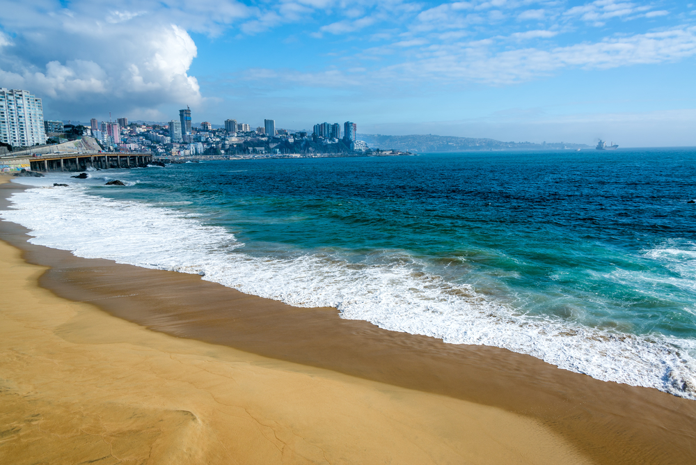 Visit nearby Viña del Mar or Concon  - Both of these nearby towns boast amazing beaches. Vina is a little more  posh  and a lot more expensive. Concon is quaint, cheaper than Vina, and has amazing beaches. Check out  The Culture Trip  for more info!