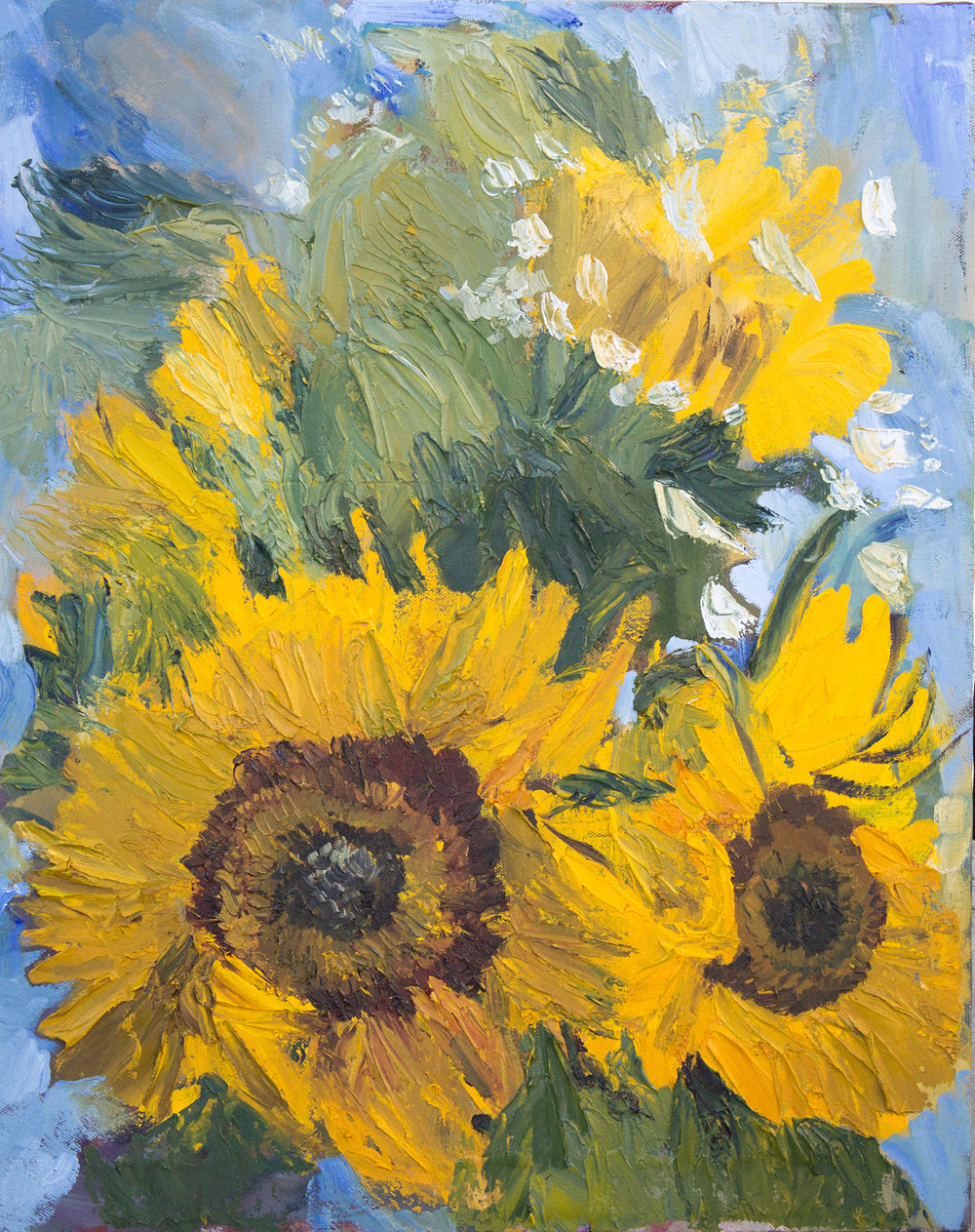 Sunflowers (Tribute to Vincent)