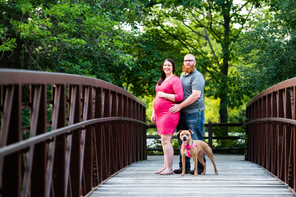 toledo maternity photography