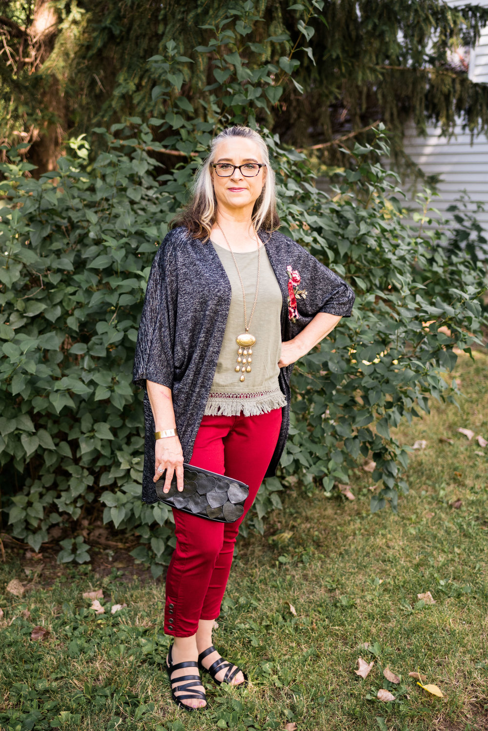 Amy - is a fashion and faith blogger located in Toledo, Ohio. She also enjoys several types of creative writing.