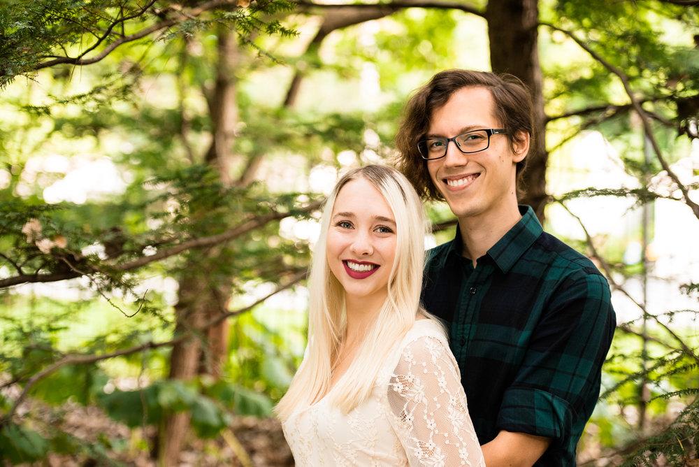sylvania ohio engagement photography