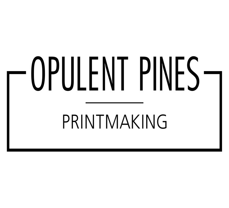 Opulent Pines Printmaking