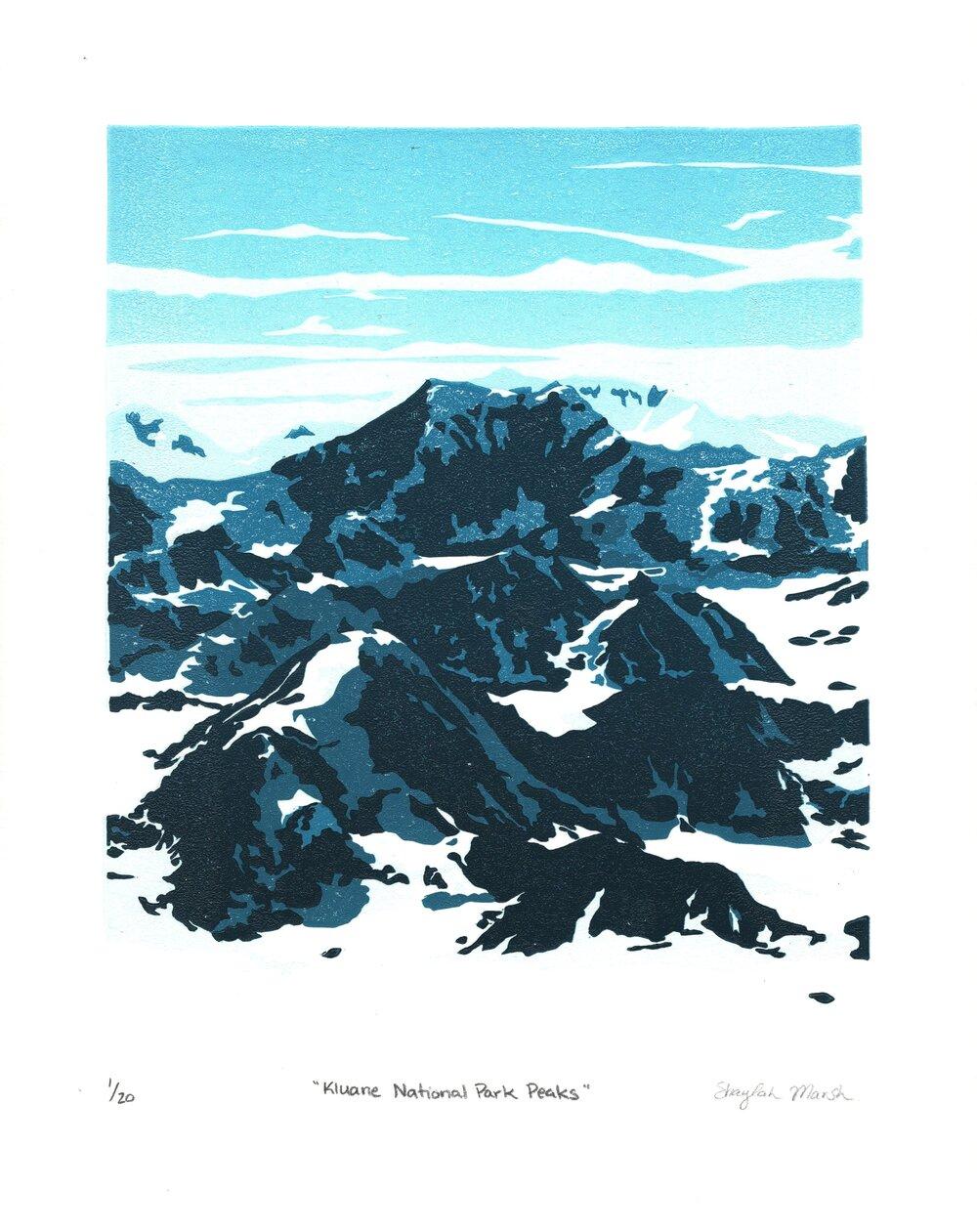 Kluane National Park Peaks