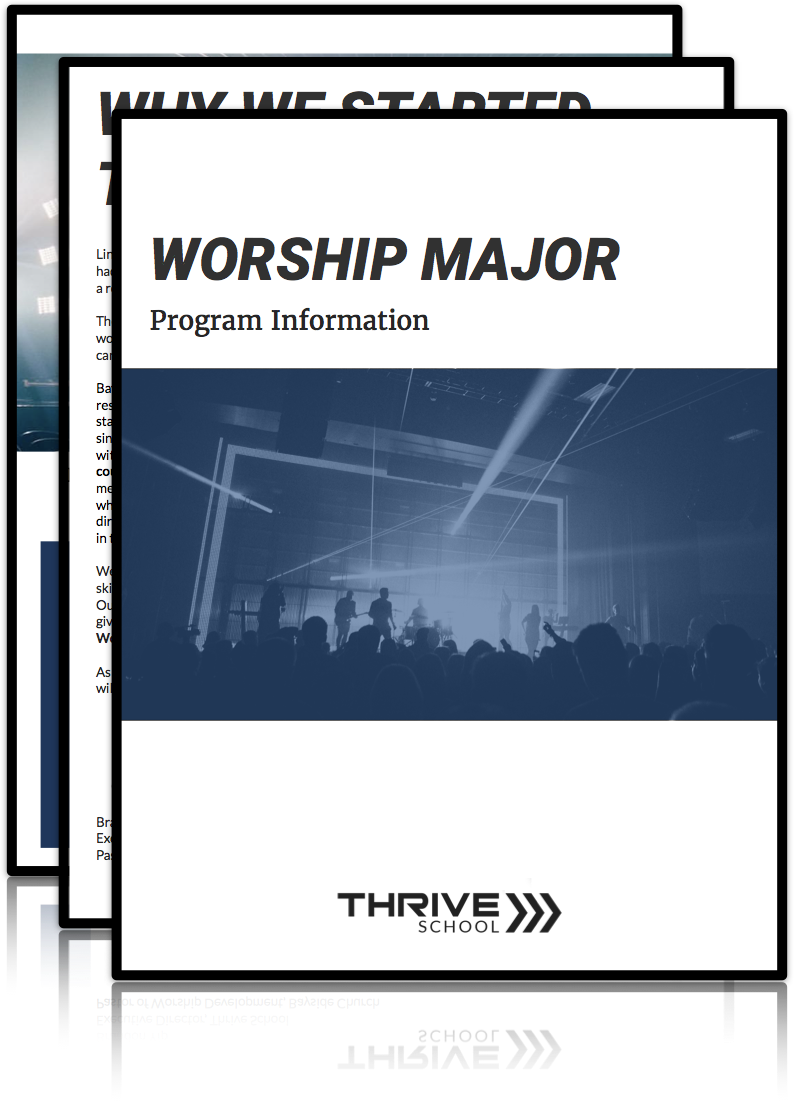 Info Packet Includes:- The Classes- Student Life- Discipleship- Next Steps -