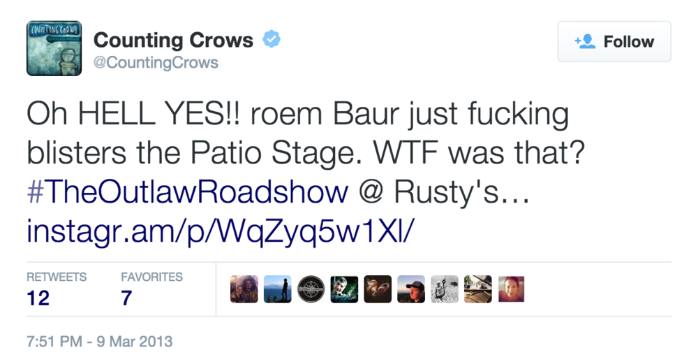 CountingCrowsTweet