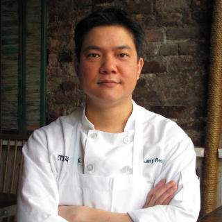 Larry Reutens, chef, New York