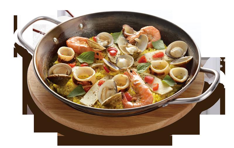 義式海鮮總匯烤飯   $280