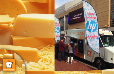 The Big Cheese Food Truck At Brookland Tasting Room Right Proper