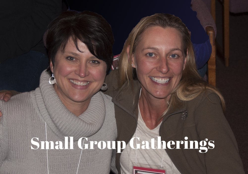 Meeting together with other women who live nearby