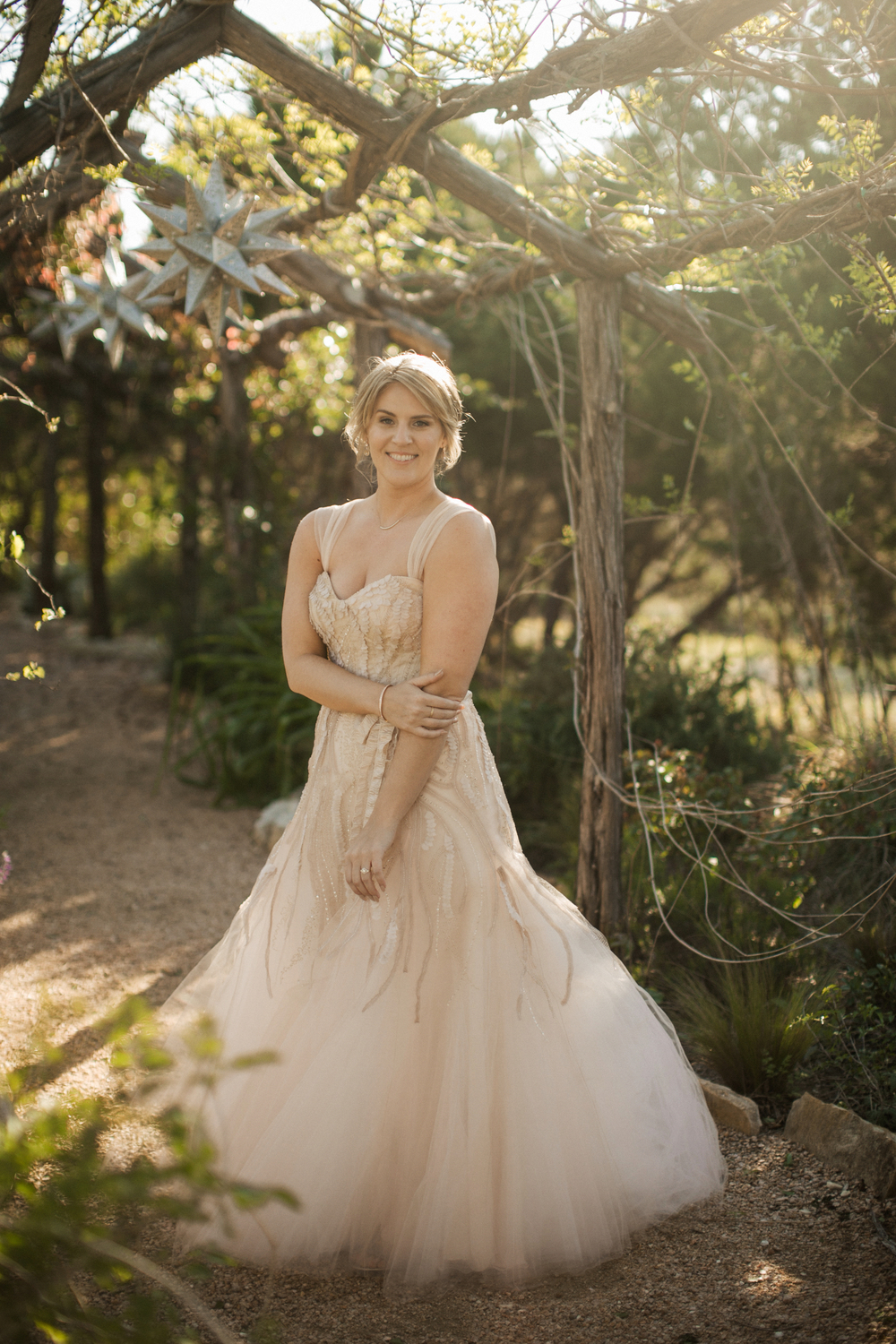 How gorgeous is her dress? She looks like a little magical woodland fairy.