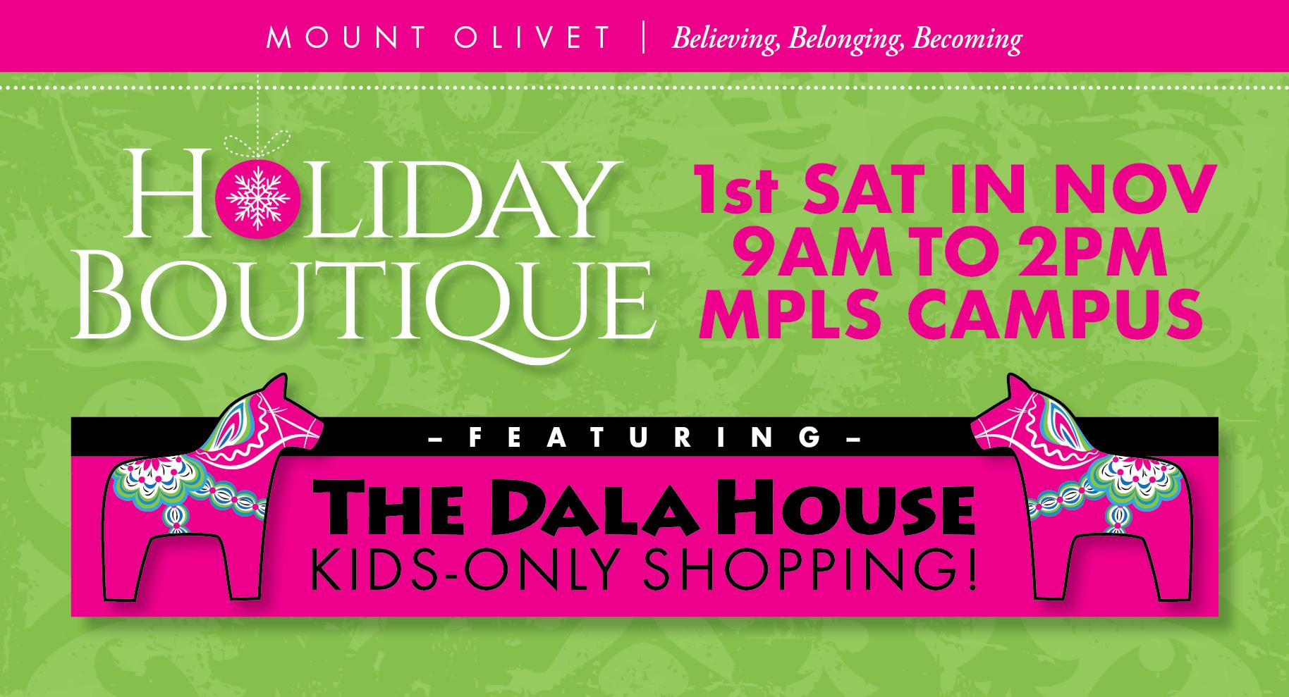 Olivet Campus Map.Mount Olivet Holiday Boutique The Vintage Tin