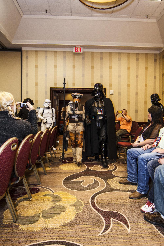 Boush and Vader