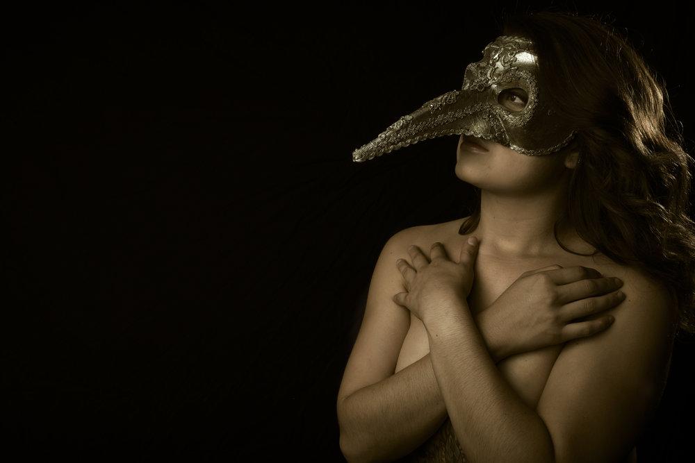 Masked Beauty - Fuji XT2