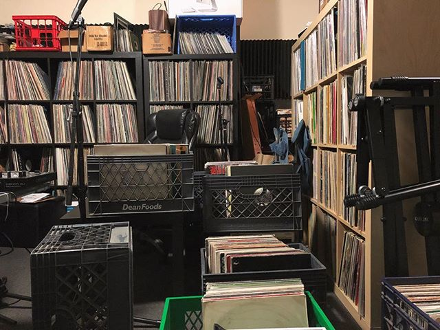 When your studio becomes the satellite back room for your record store