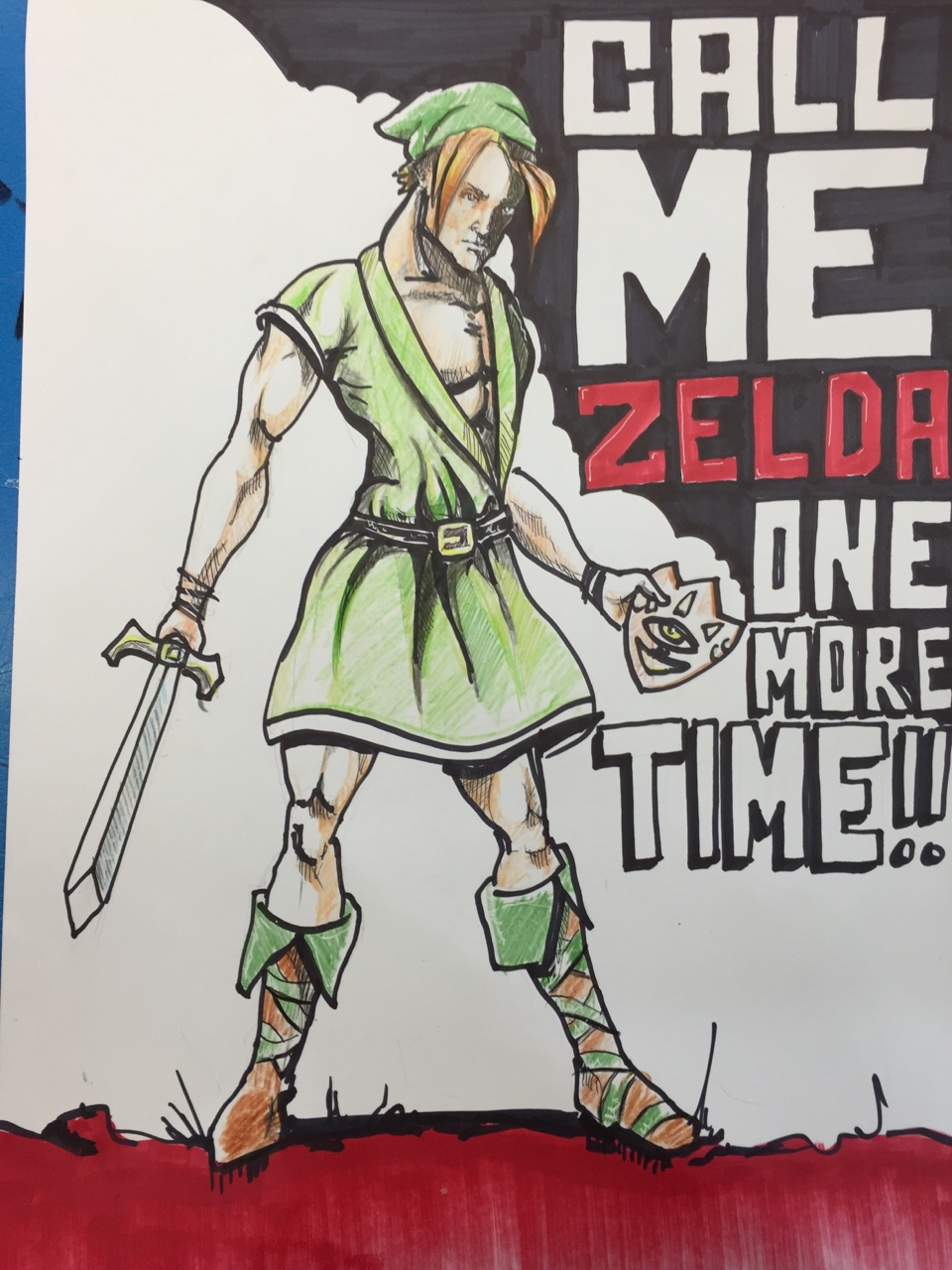 Figured Link needed to be jacked up a bit. Lol.