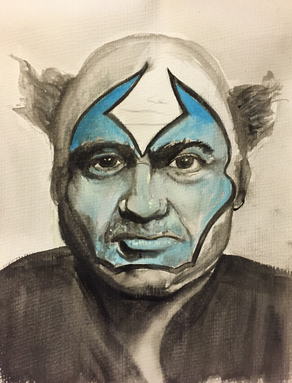This is a portrait I did of Danny DeVito as The Violator from the comic Spawn. I always thought he should have played him in the movie.Punch the follow button with your stumpy little fingers!