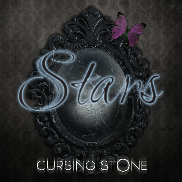 Cover art for Cursing Stone's second single. Illustrator, Photoshop and rendered 3D elements from the actual music video, which I also made..