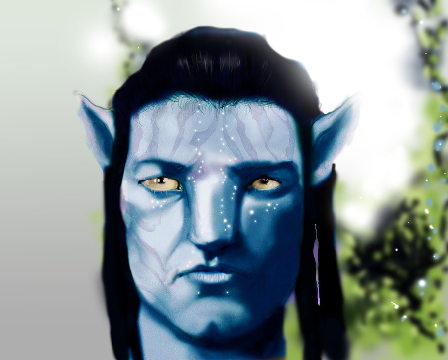 I was inspired by the art of Avatar, I painted this using the airbrush tool in Photoshop. Took about 3 hours.