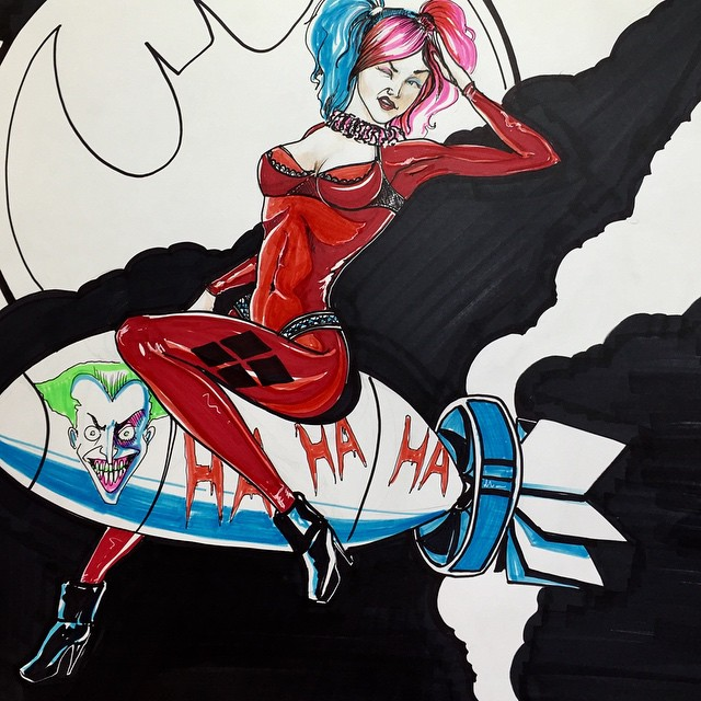 121989587821 - i drew a new harley quinn in honour of all of the.jpg