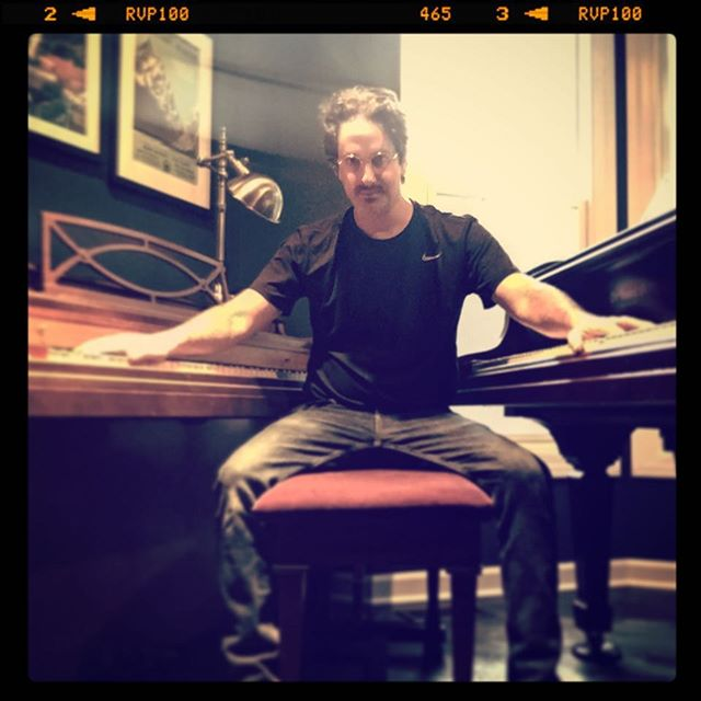 When your cousin has two pianos. #music #songfamily #songwriter #twopianos #producer #chicagomusic