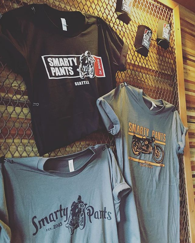 Get the smarty pants in your life something special. T-shirts, koozies, sweatshirts and totes! #btown #christmas #smartypantsgarage