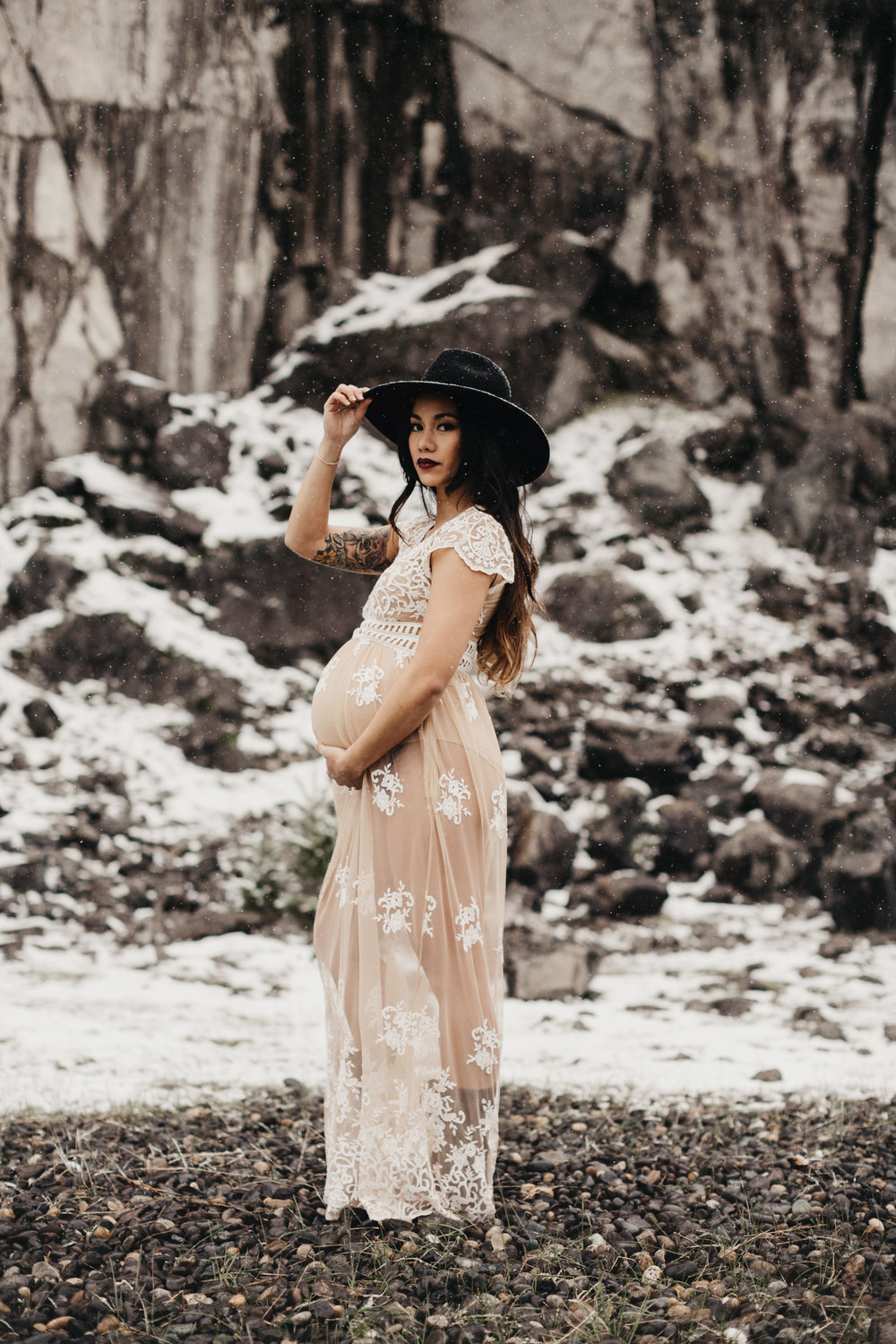 WINTER MATERNITY JENNY CHOKBENGBOUN PHOTO