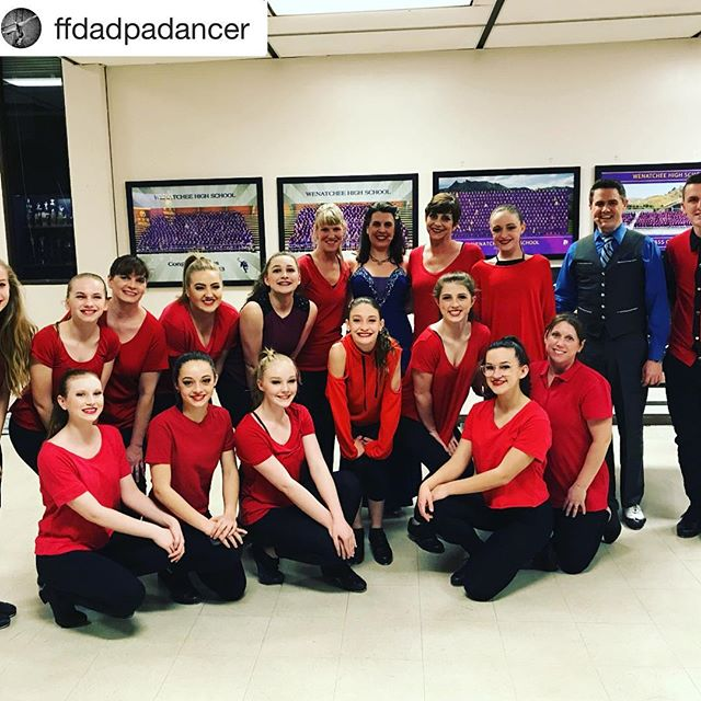 So much fun with our local dancers in #Wenatchee #Washington! #songanddance #tap #tappers