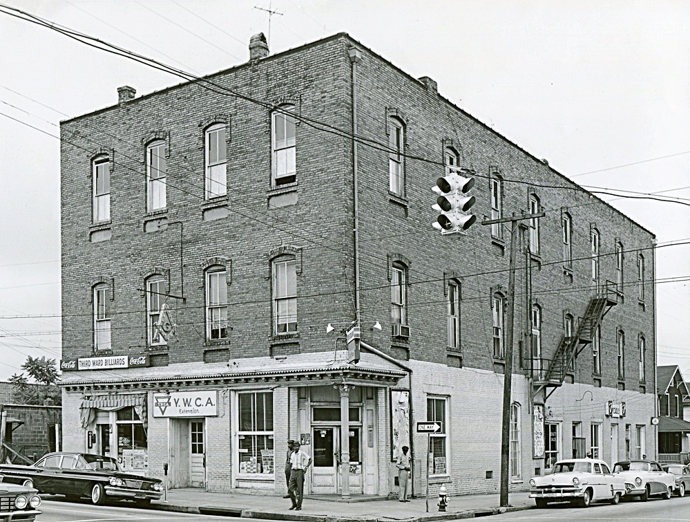 Widow's Son Lodge #4 Moves To Downtown Raleigh. - 427 South Blount Street, Pictured in 1960
