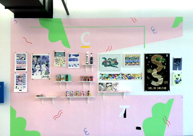 My graduation wall was displayed at the ArtCenter College of Design Hillside Campus in August 2016.