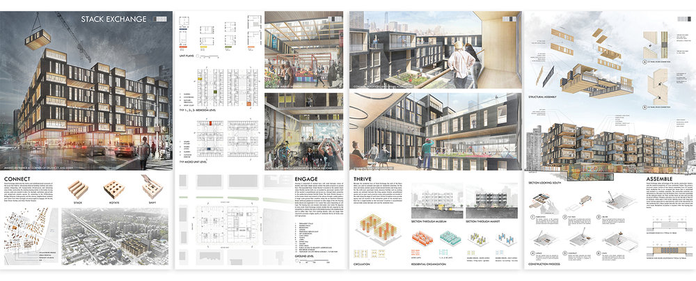 Competition Boards  /  ACSA Timber in the City