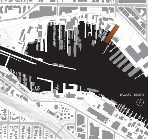 Context Map / Ship Canal, Ballard WA