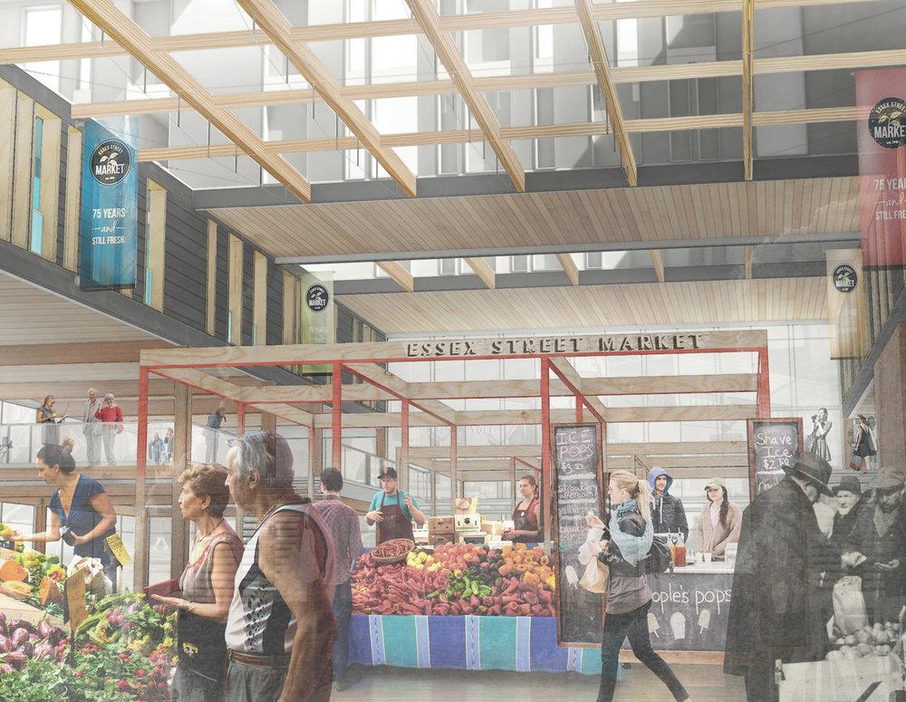 Rendering 04 / Essex Street Market