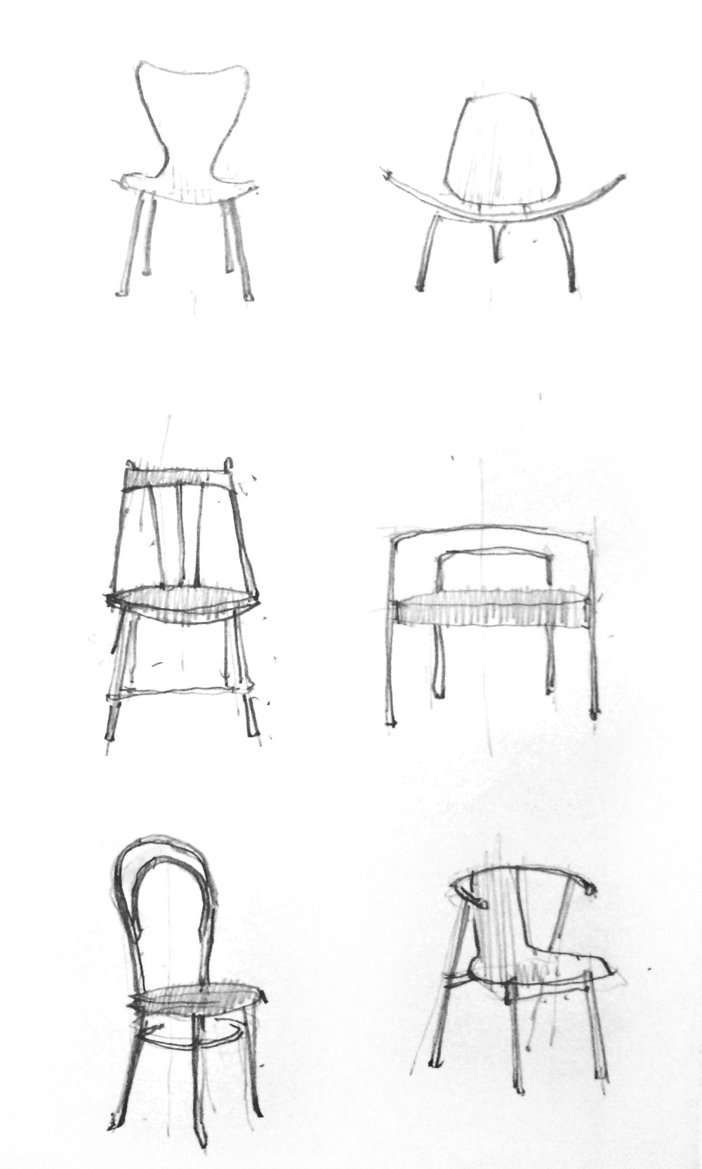 Danish chair series, author