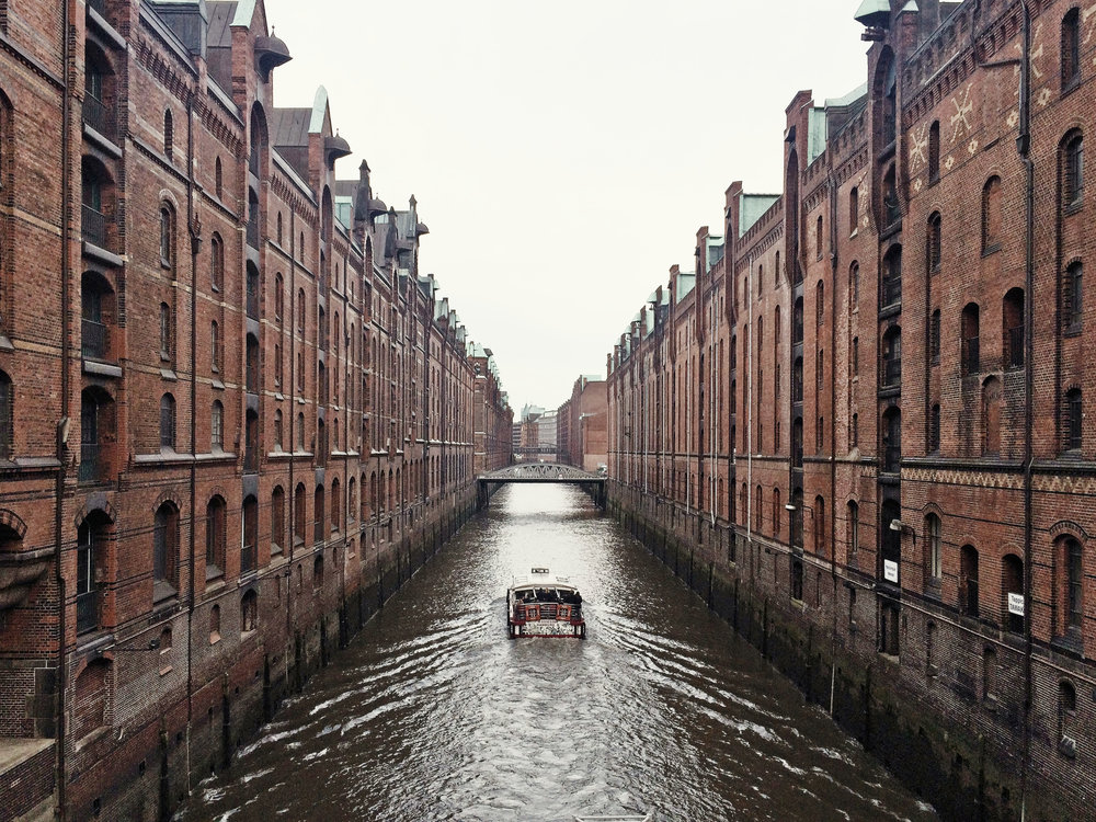 Speiherstadt, the Warehouse District, Hamburg, photo by author