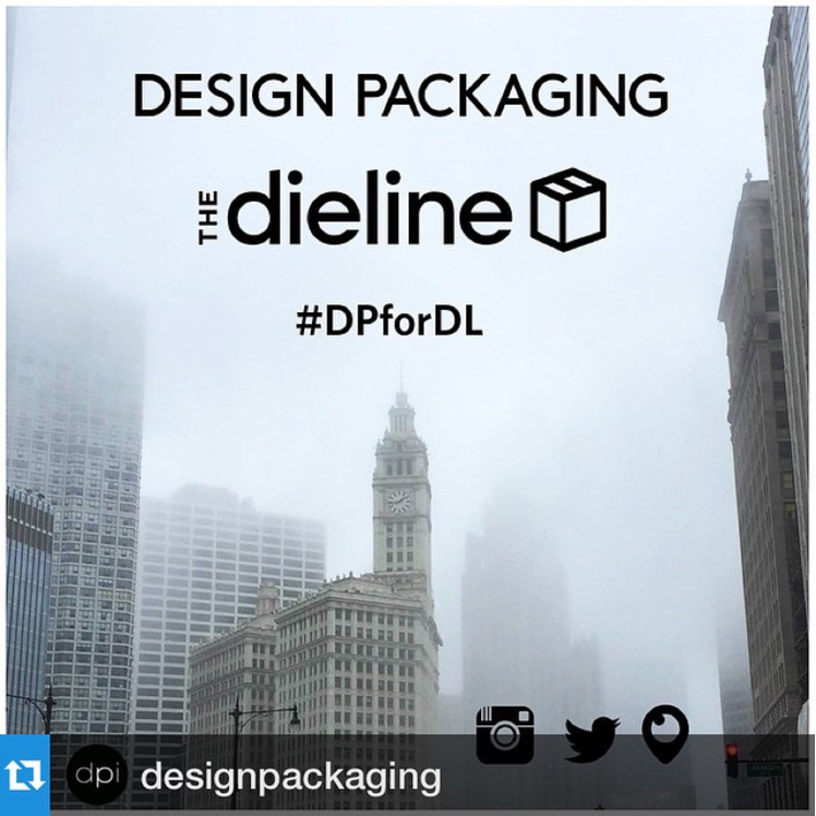 Taking over  @thedieline 's Instagram and Twitter feed for  #HOWlive  - make sure to follow them and keep track with hashtag  #DPforDL   #packaging