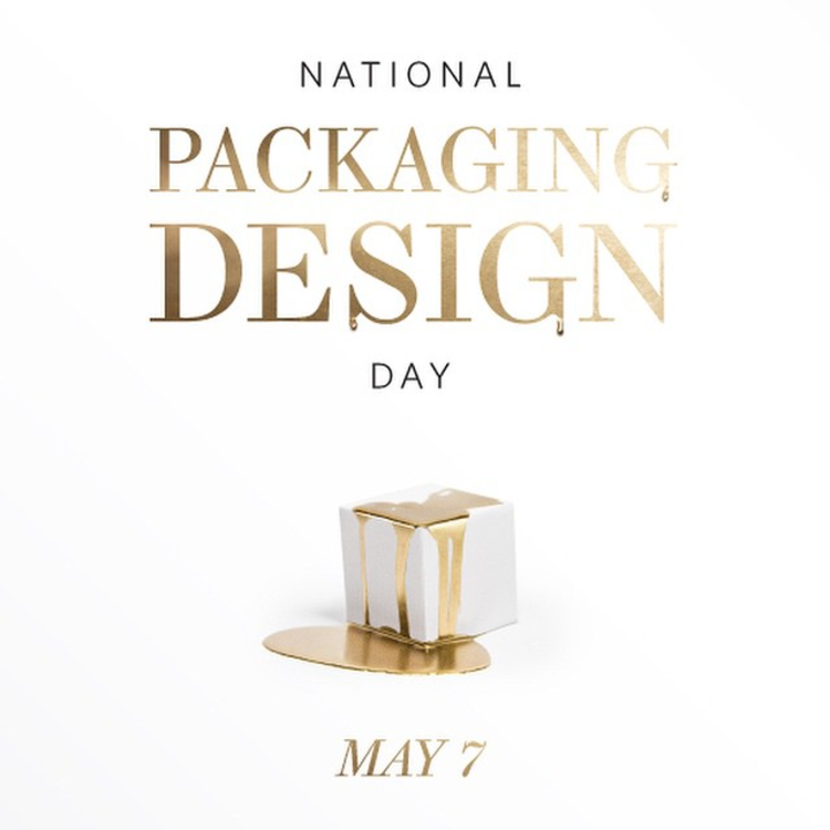 It's official, May 7th is national  #PackagingDesignDay ! Mark your calendars, it's gonna be a party!  #packaging  #design  #designpackaging